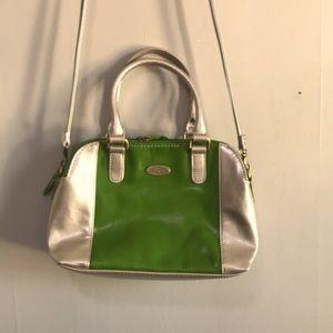 Aurielle Leather Satchel Bag